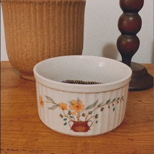 Vintage Floral Paint Jewelry Trinket Boho Decor